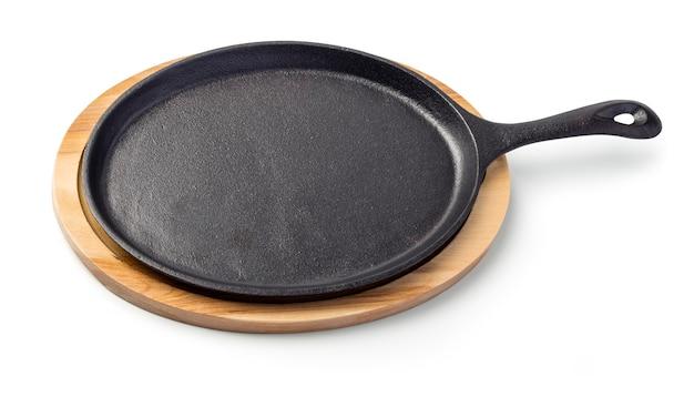 Pfanne perfekt zum kochen von steaks und gemüse