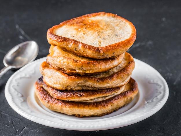 Pfannkuchen mit chiasamen