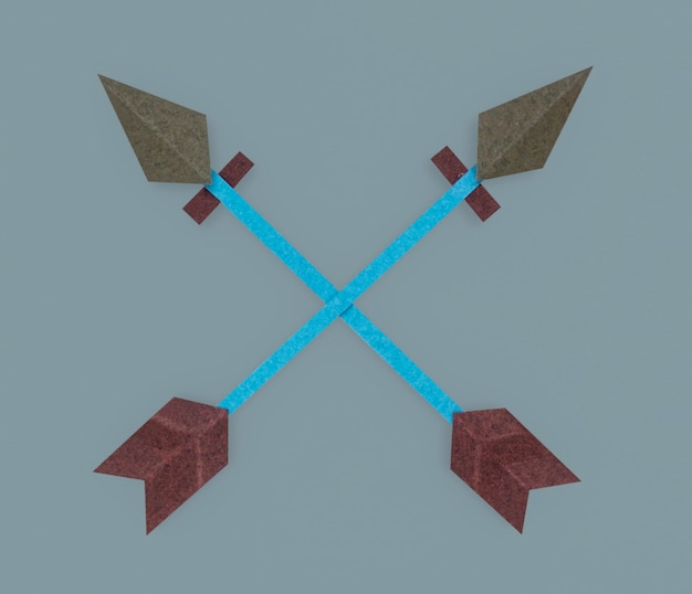Pfeil bogenschießen richtung symbol symbol