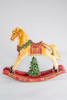 Pferd figur weihnachtsdekoration neujahr weihnachtsbaum mini figur