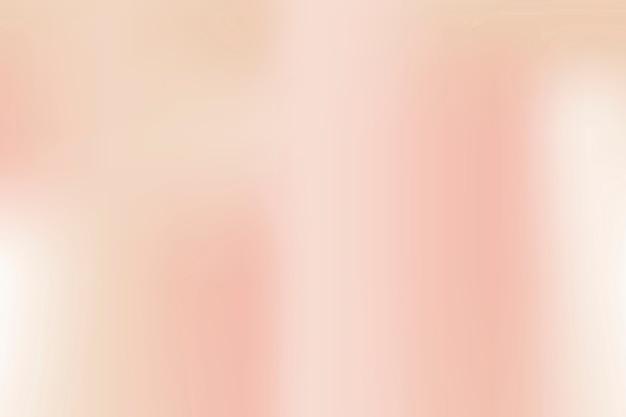 Pfirsichfarbener unschärfegradientenhintergrund im weichen vintage-stil