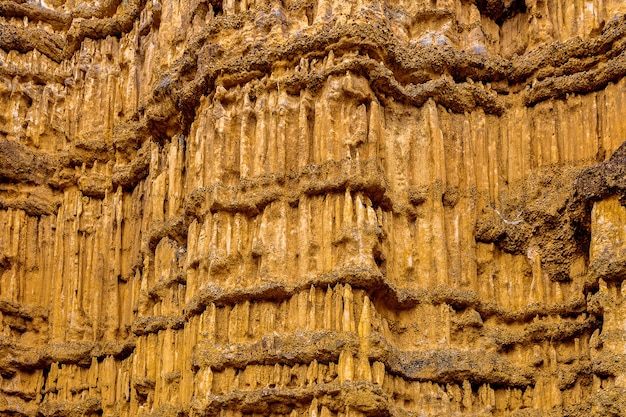 Pha cho, pha cho ist eine hochgelegene canyon-klippe in den mae wang-nationalparks in chiang mai, thailand. schönes thailand.