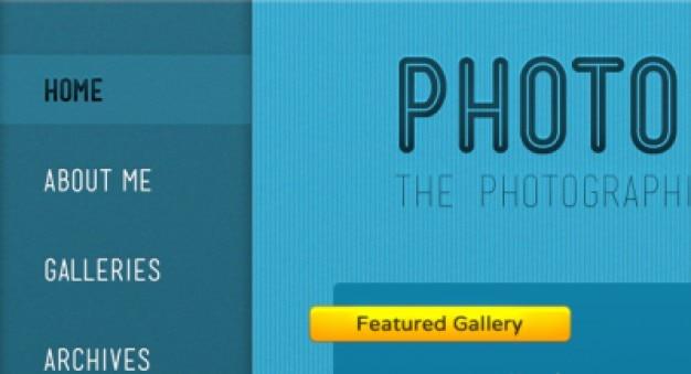 Photostriped thema