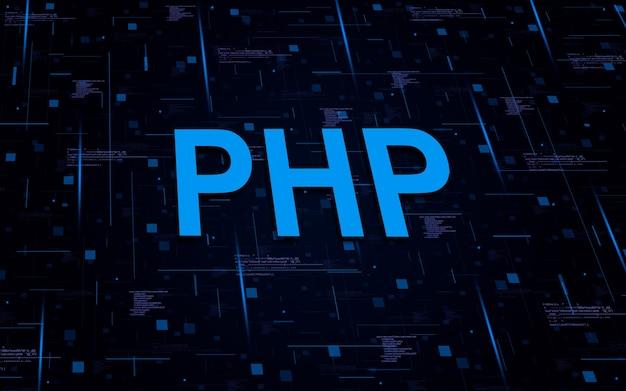 Php-programmiertext