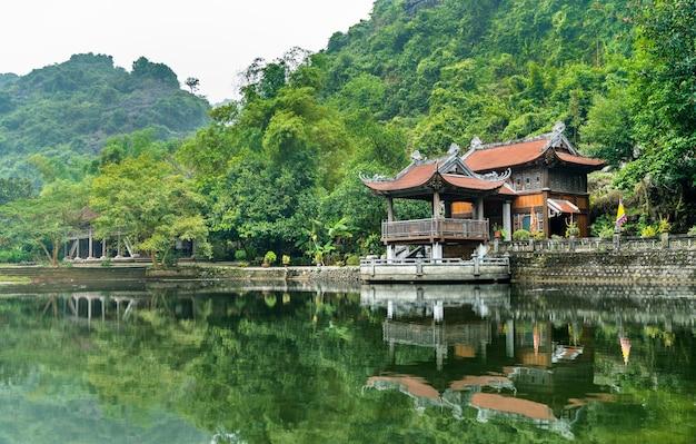 Phu khong tempel im trang an scenic area. in vietnam