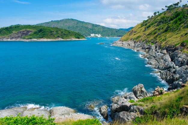 Phuket blaues meer