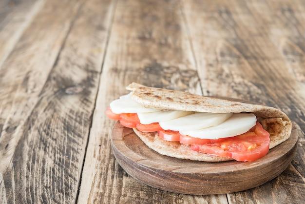 Piadina typisches italienisches essen