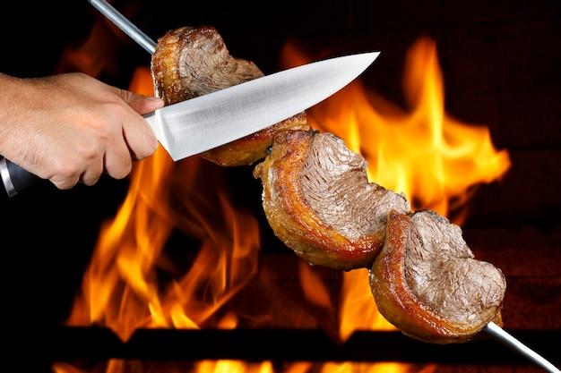 Picanha, traditioneller brasilianischer grill.