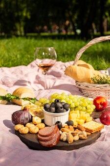 Picknick im sommergarten