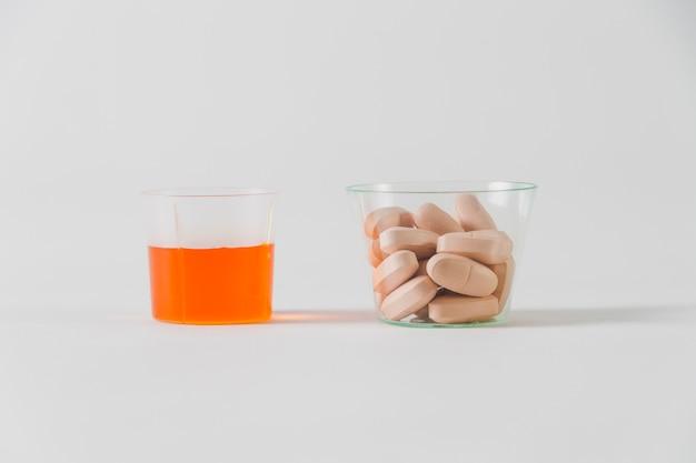 Pillen und medizin