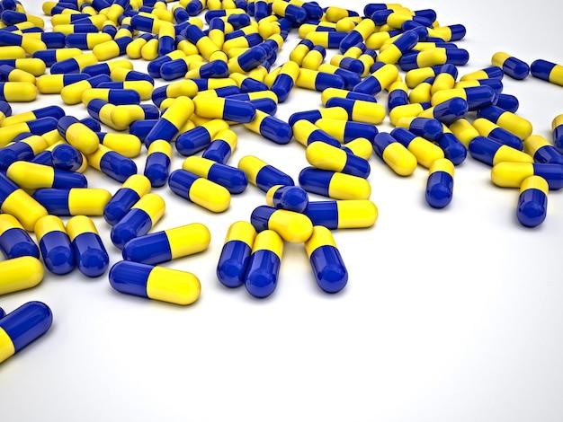 Pills hintergrund