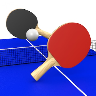 Ping-pong-match