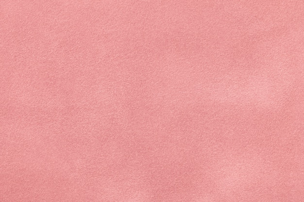 Pink matt wildleder samt textur,