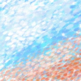 Pinselhintergrundkonzept im skywallpaperhintergrund