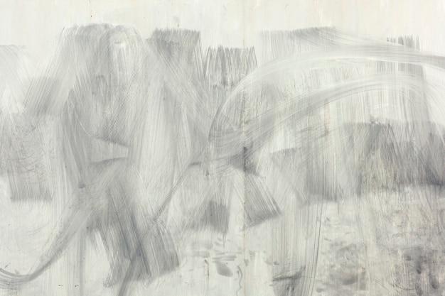 Pinselstrich auf einem zementwandhintergrund