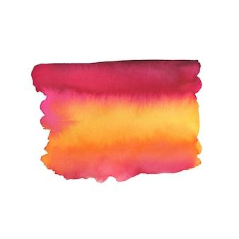 Pinselstrich gemalt. aquarellmalerei textur.