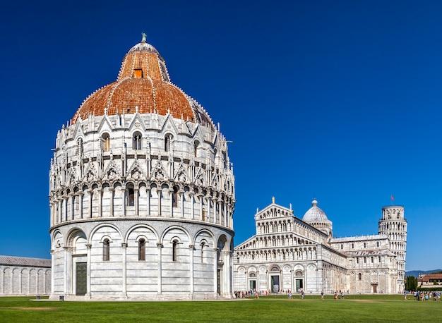 Pisa baptisterium von johannes, römisch-katholisches kirchliches gebäude in pisa, italien