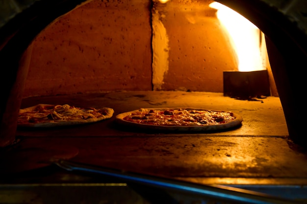 Pizza backen im ofen