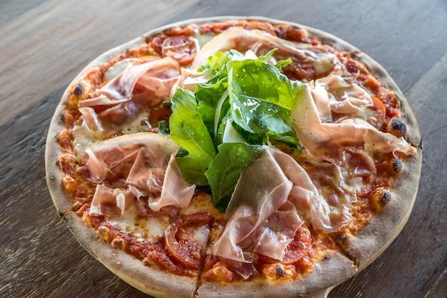 Pizza parmaschinken