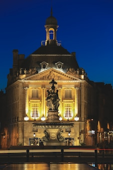 Place de la bourse in bordeaux, frankreich