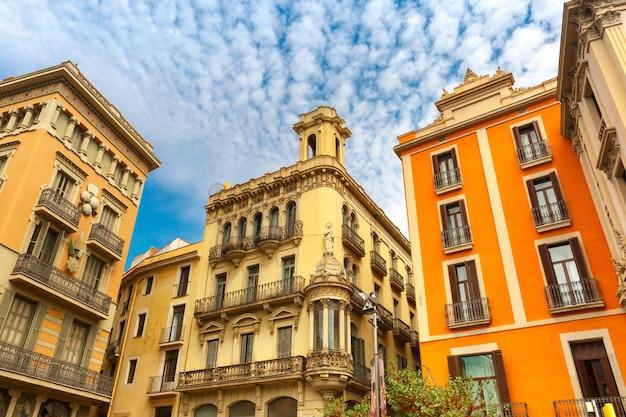 Placita de la boqueria in barcelona, katalonien, spanien