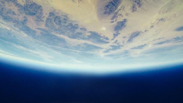 Planet mit atmosphäre