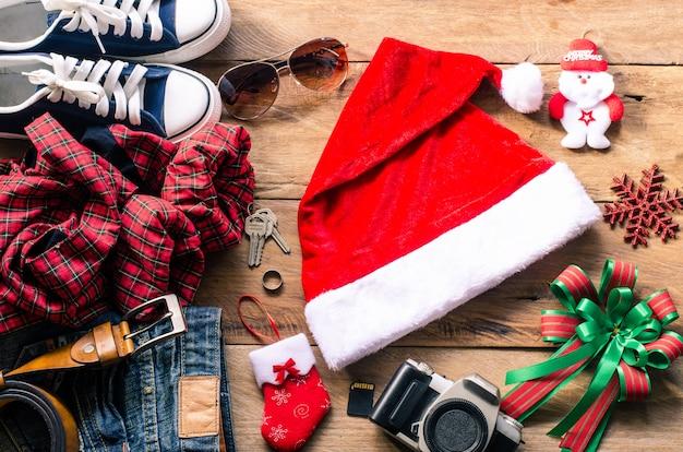 Planung für reisen mit weihnachtsfest