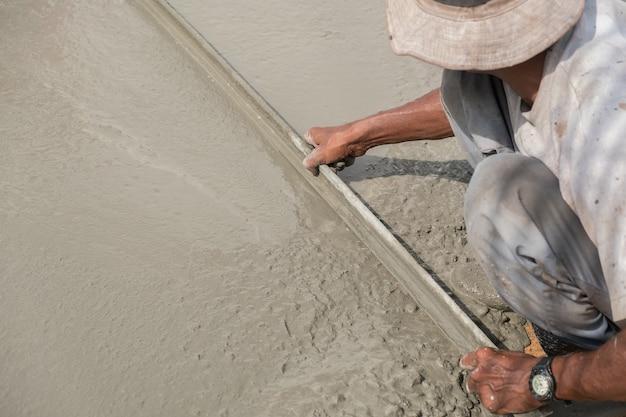 Plasterer estrich beton für boden