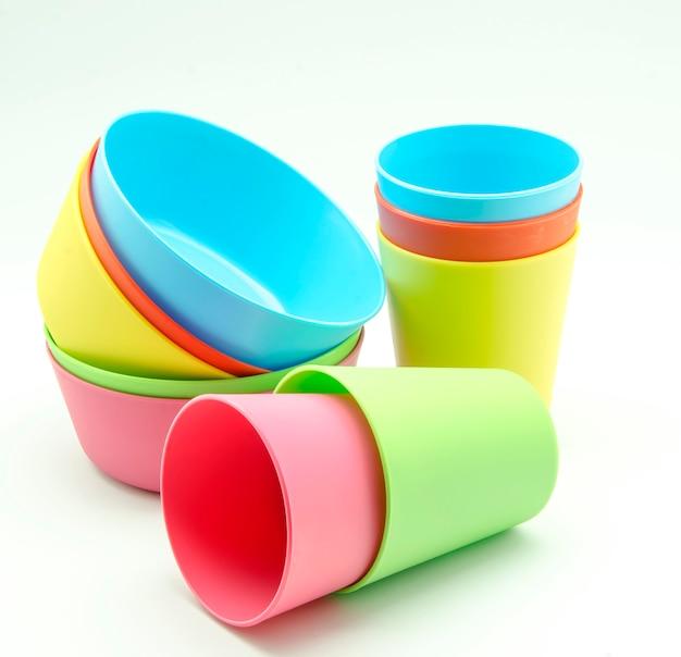 Plastikgeschirr