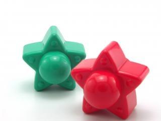Plastikspielzeug sterne, phantasie