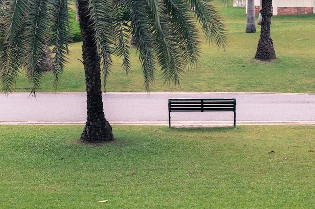 Platz in einem park