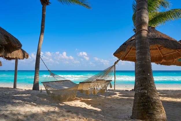 Playa del carmen strand in riviera maya