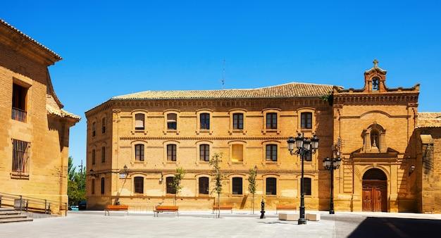 Plaza de la universidad huesca