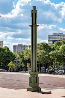 Plaza dr. pedro ludovico teixeira in der stadt goiania