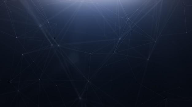 Plexus technologie abstrakte linie hintergrund