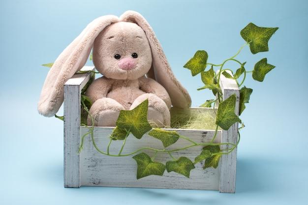 Plüschtier kaninchen.