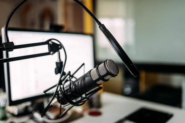 Podcasting-konzept