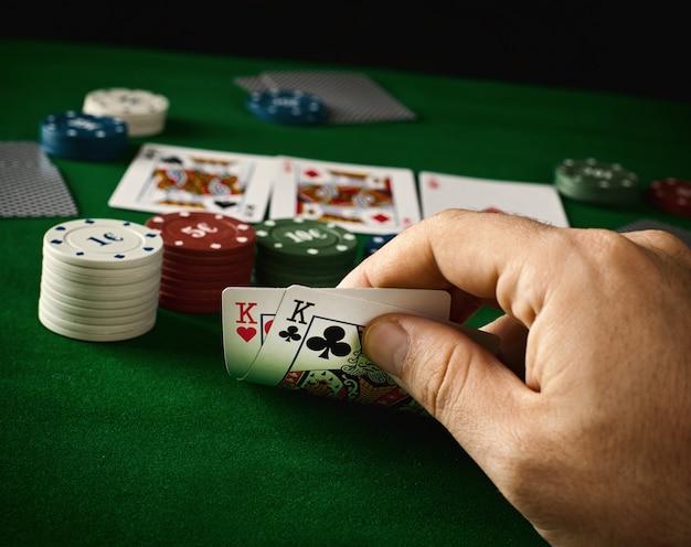 Poker-konzept