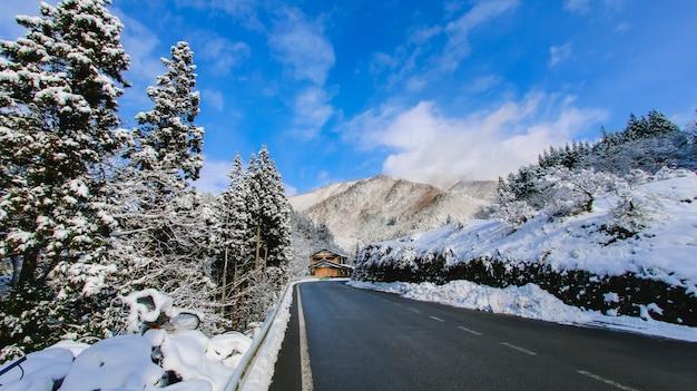 Polar alpine präfektur szenen sonne