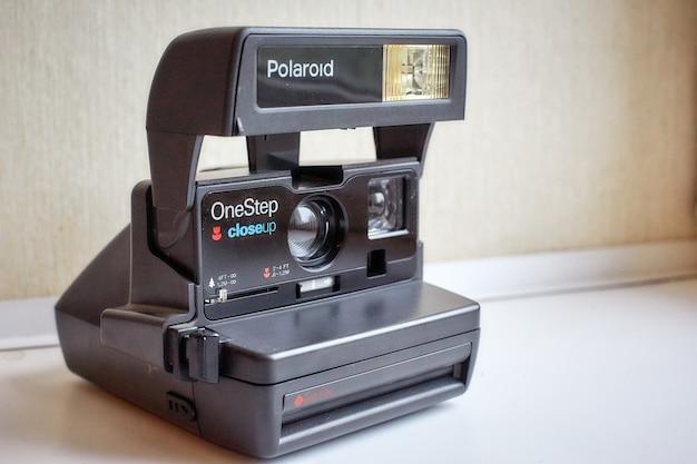 Polaroid retro-kamera