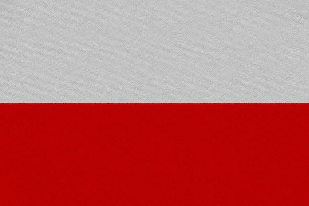 Polen stoffflagge