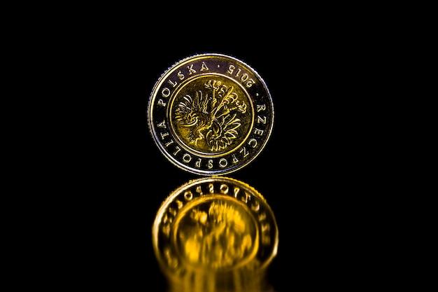 Polnische metallmünzen