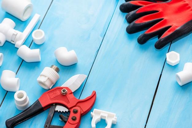 Polypropylen-ersatzteile für wasserleitungen