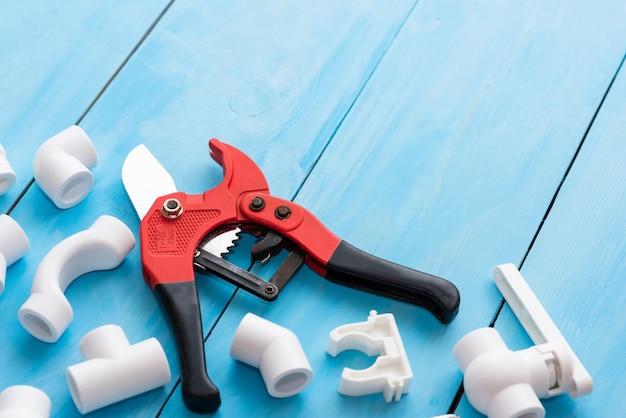 Polypropylen-ersatzteile mit platz für ihre werbung.