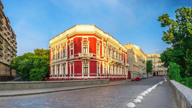 Pommer-gebäude in odessa, ukraine