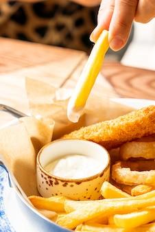 Pommes frites dip