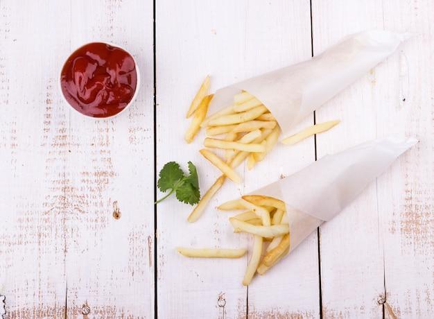 Pommes frites kartoffeln