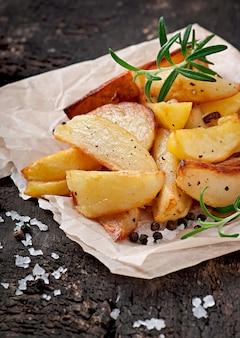 Pommes frites kartoffelschnitze