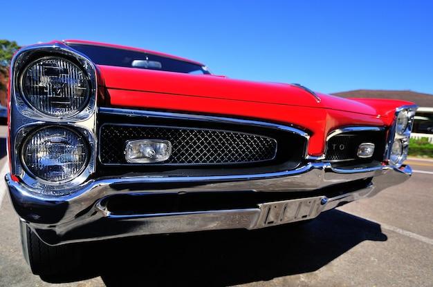 Pontiac gto am septem in san diego, kalifornien, usa