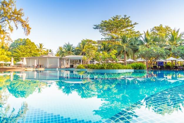 Pool entspannung meer szene natur